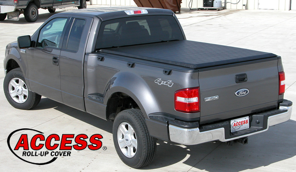 Access Tonneau Cover on a Flareside Pickup Truck